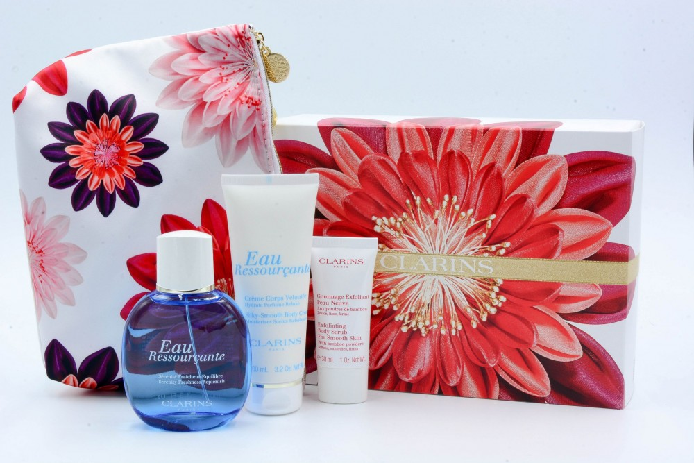 Clarins Eau Ressourcante Eau De Toilette Spray Set