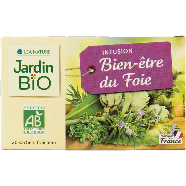 Jardin Bio Liver Well-Being Infusion