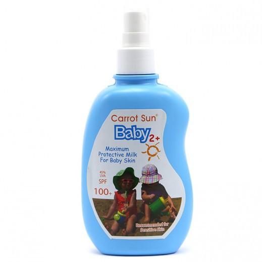 Carrot Sun Baby 2+ Protective Milk 200 ml SPF 100+