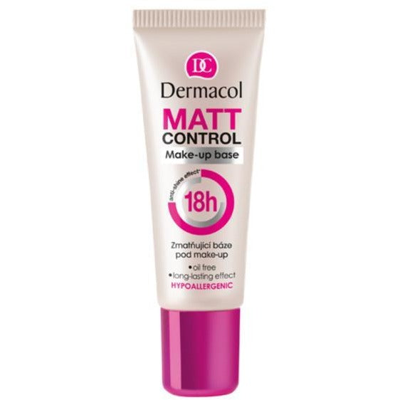 Dermacol Matt Control Makeup Base - 18h Anti-Shine Effect