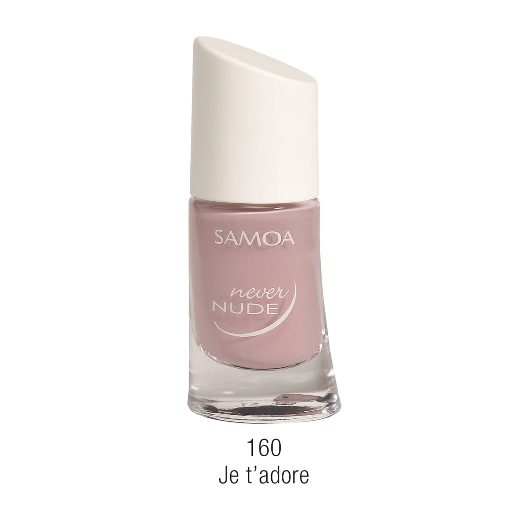 Samoa Never Nude Nail Polish - Pinks