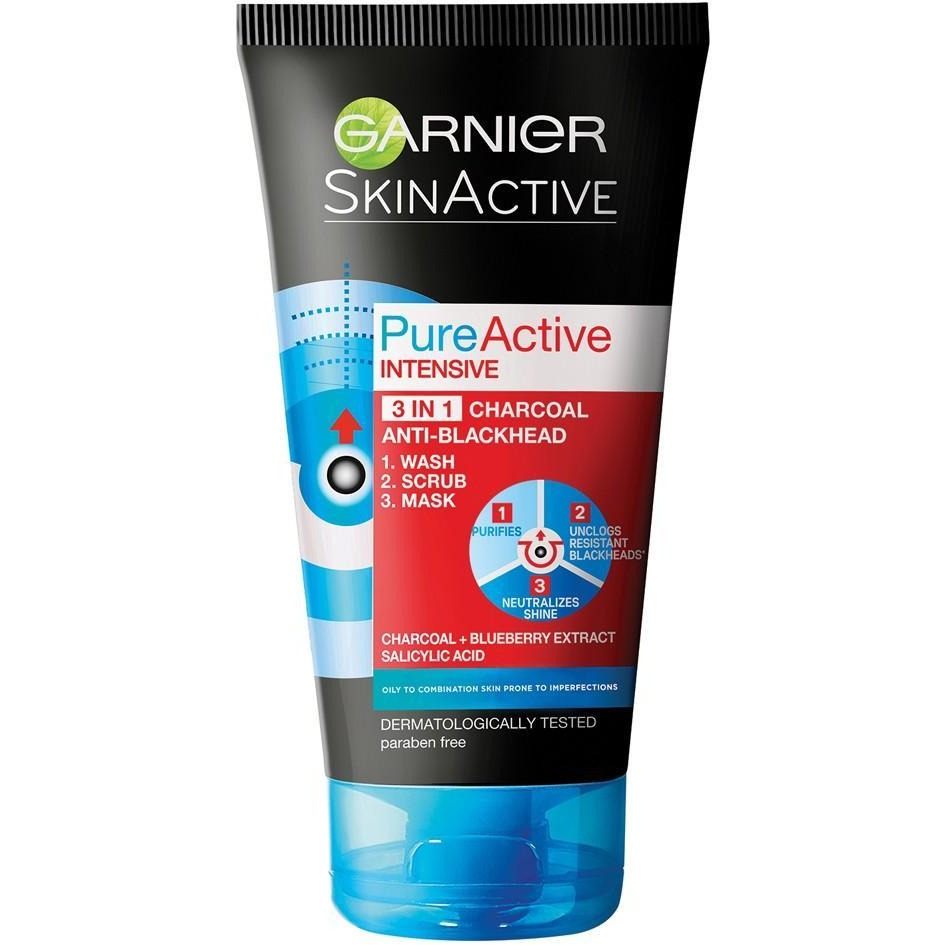 Garnier Pure Active 3-in-1 Charcoal Anti-Blackhead - Win A Car Offer