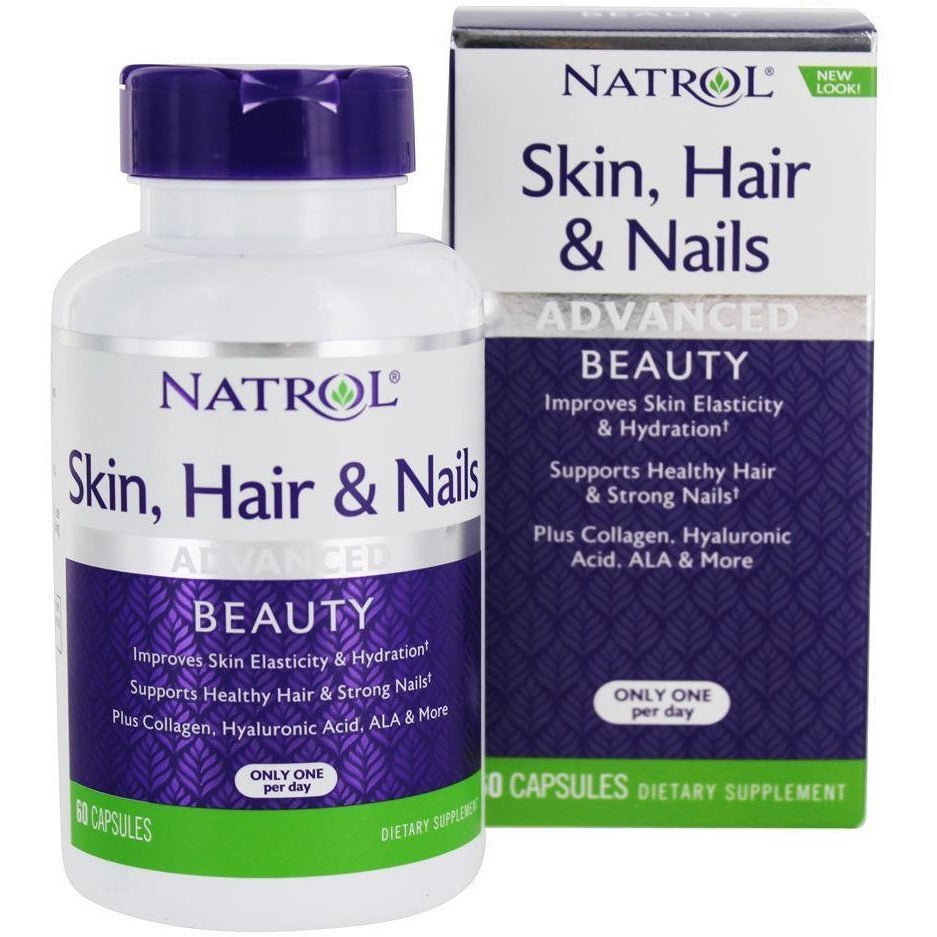 Natrol Skin, Hair, Nails Supplements