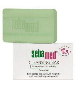 Sebamed Soap-Free Cleansing Bar for sensitive skin