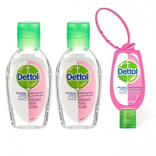 Dettol Hand Sanitizer 50ml - Buy 2 Get 1 Free
