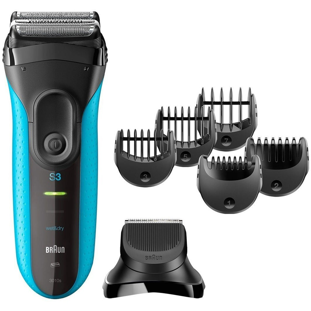 Braun Shave & Style 3010BT 3-in-1 Electric Wet & Dry Shaver
