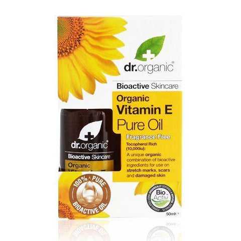 Dr. Organic Vitamin E Pure Oil