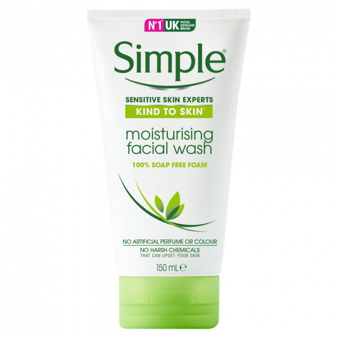 Simple Kind to Skin Moisturizing Facial Wash 150ml