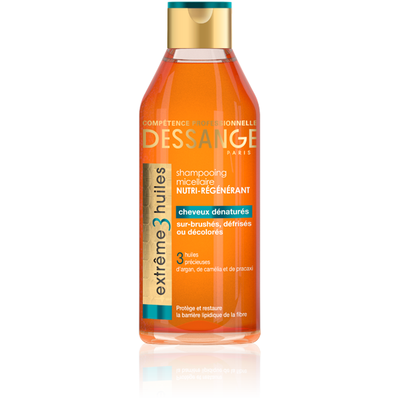 Jacques Dessange Extreme 3 Oil Hair Cleansing Shampoo