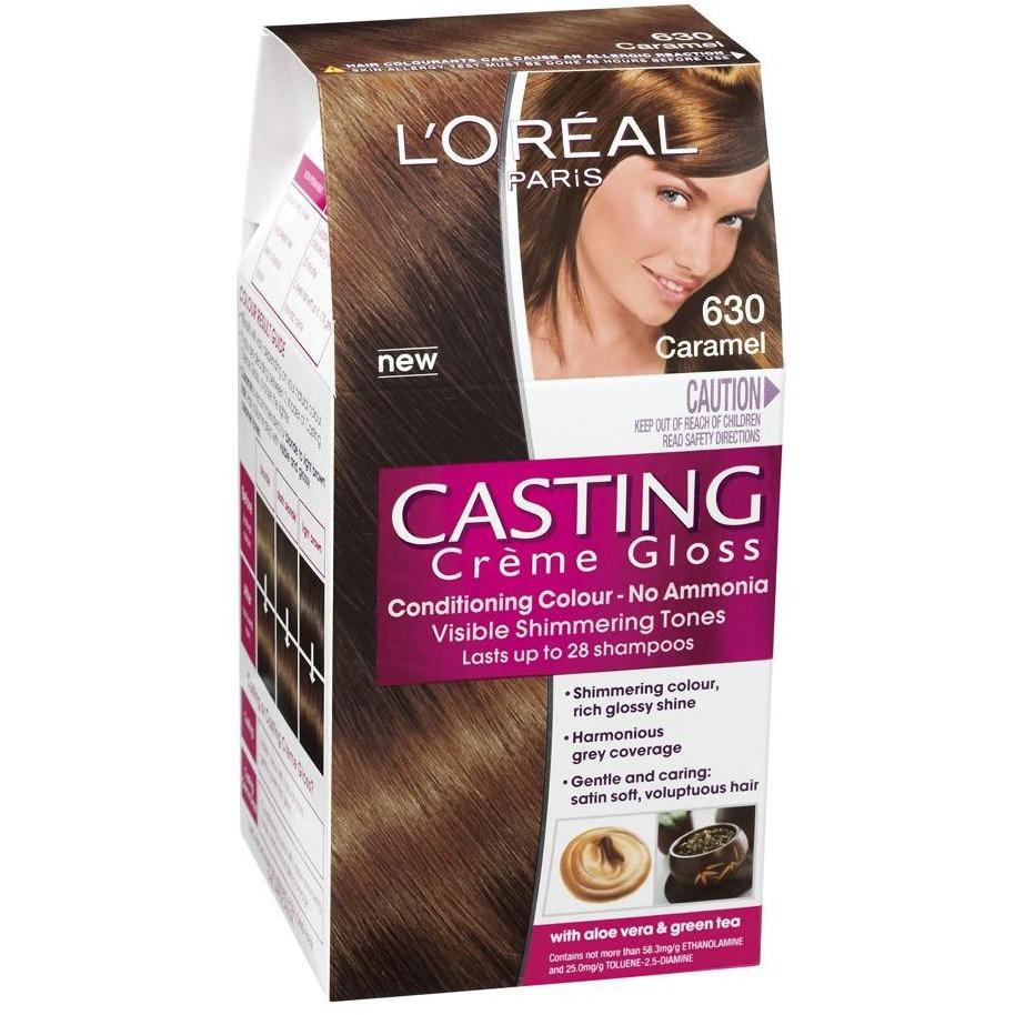 Casting cream gloss - a palette of shades from Loreal