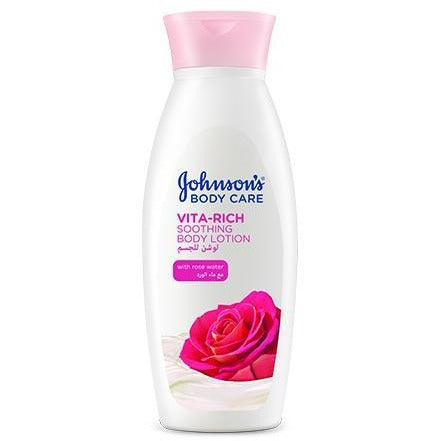 Johnson's Vita-Rich Sooth B.Lotion (Rose/Honey) | feel22 | Lebanon