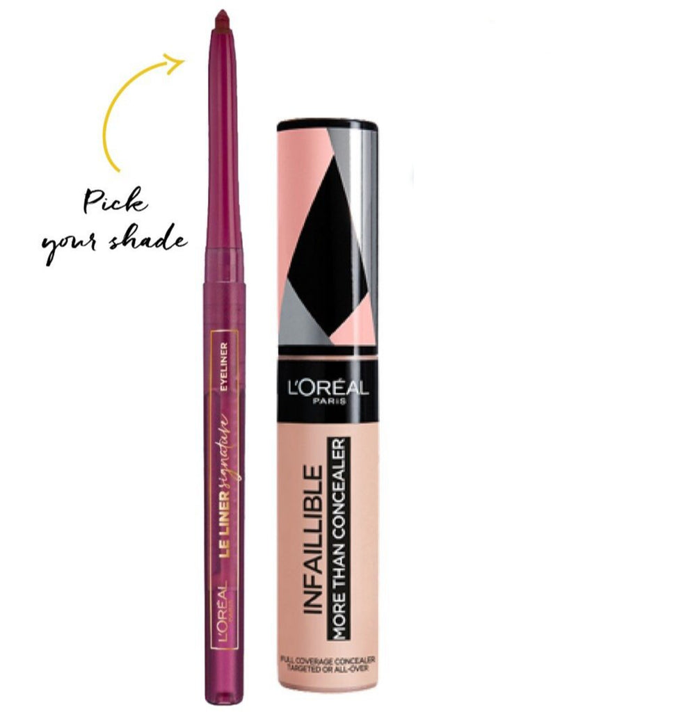 L'Oreal Paris Adha 2020 Offer: Le Liner Signature + Infallible Concealer Bundle 15% Off
