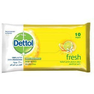 Dettol Skin Wipes Fresh