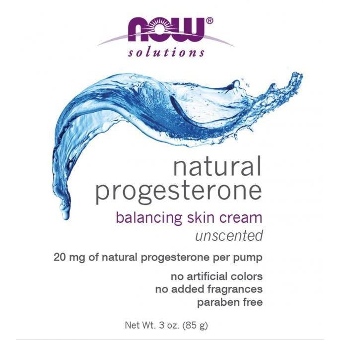 Now Natural Progesterone Skin Cream