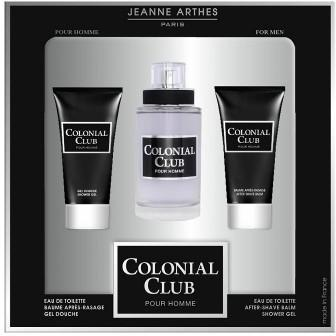 Jeanne Arthes Colonial Club EDT For Men Gift Set