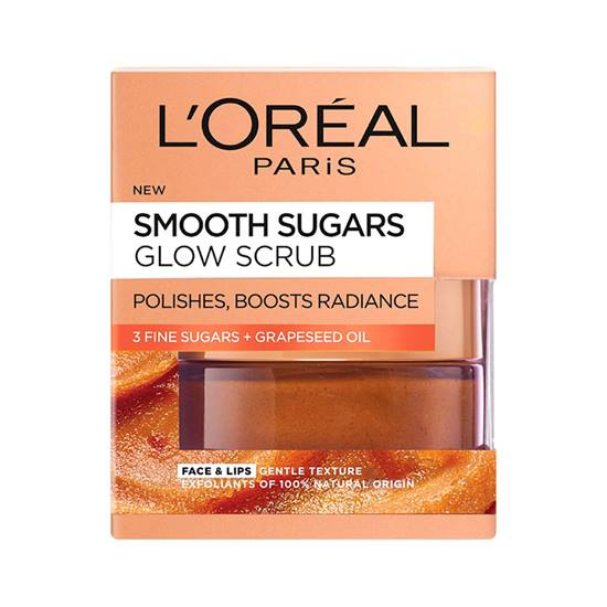 L'Oreal Paris Smooth Sugar Glow Scrub