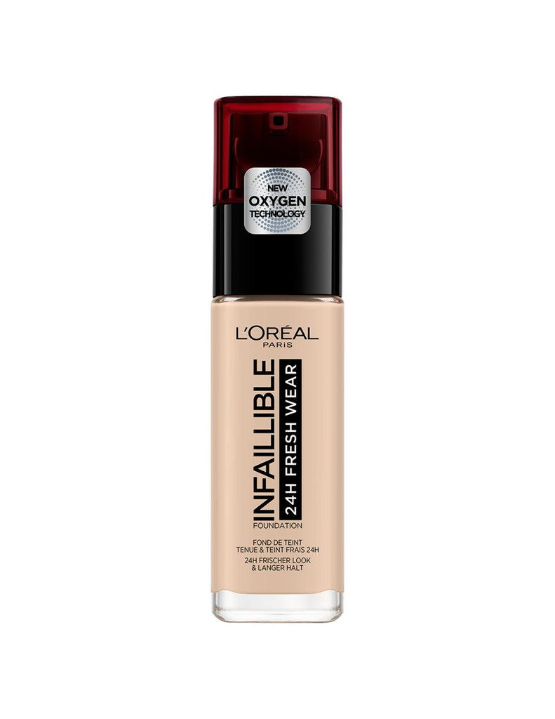 L'Oreal Paris Infallible 24h Fresh Wear Foundation - New Formula