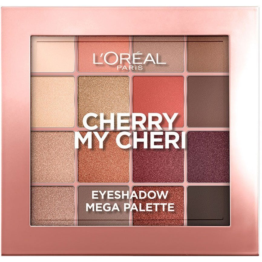 L'Oreal Paris Cherry My Cheri 16-Shade Eyeshadow Palette