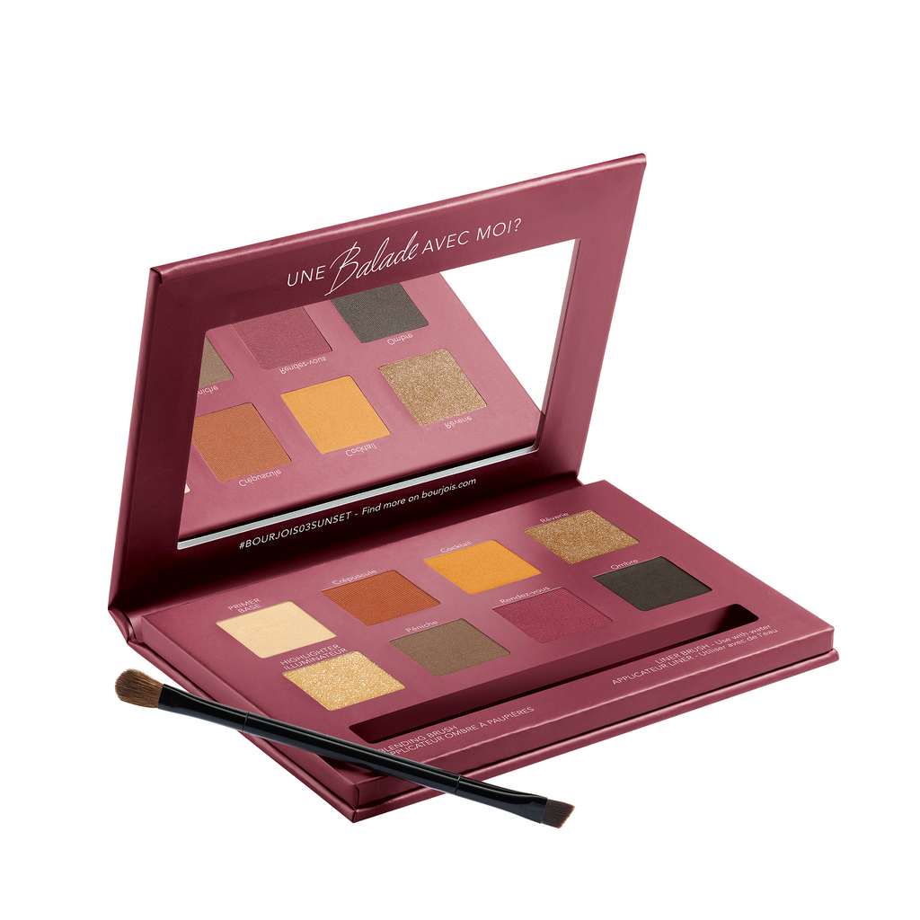 Bourjois Quai De Seine Sunsent Edition Eyeshadow Palette