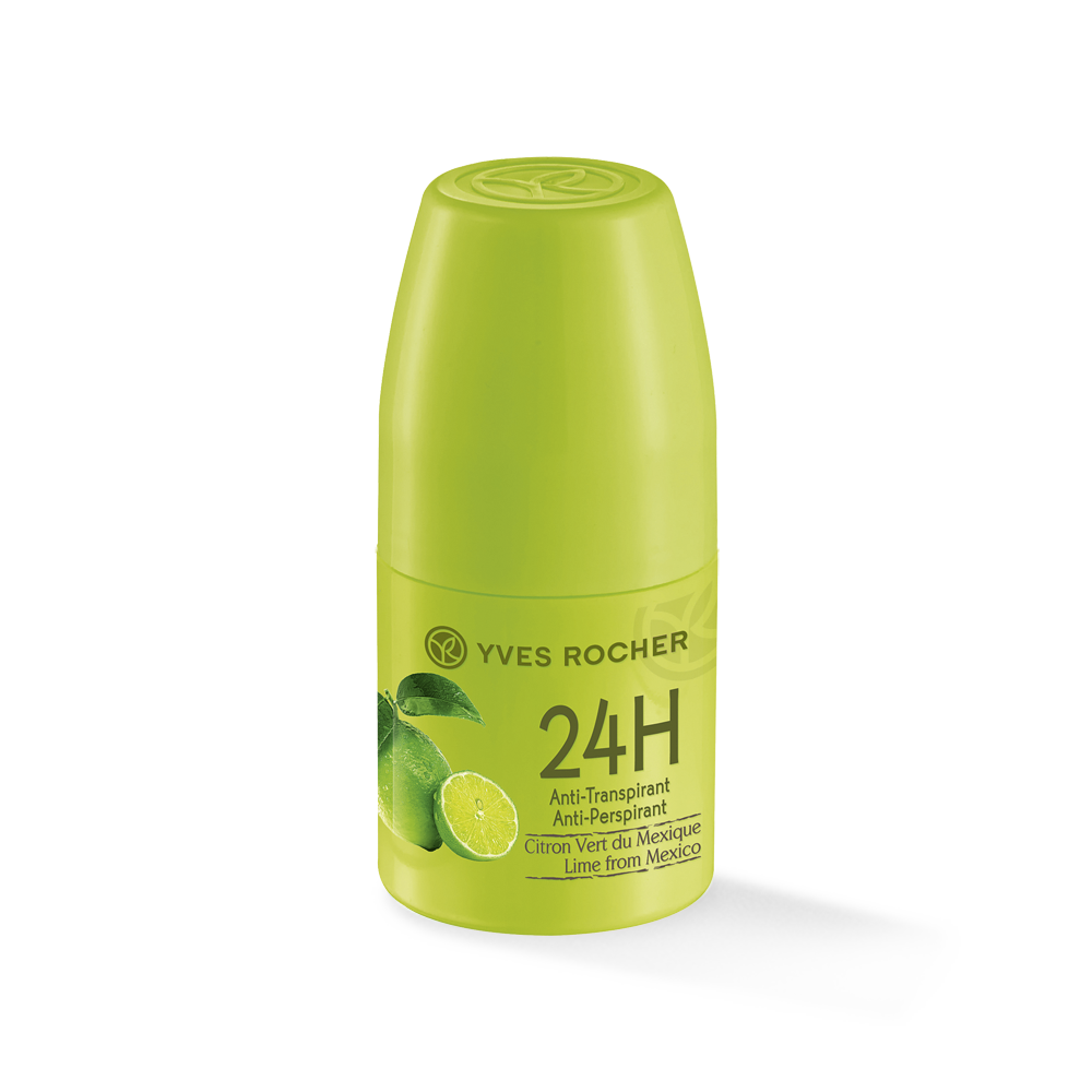 Yves Rocher Roll-on 24h Natural Anti Perspirant - Lime from Mexico