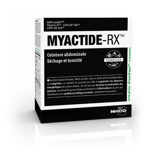 NHCO Myactide-RX - Abdominal belt, Drying and toned
