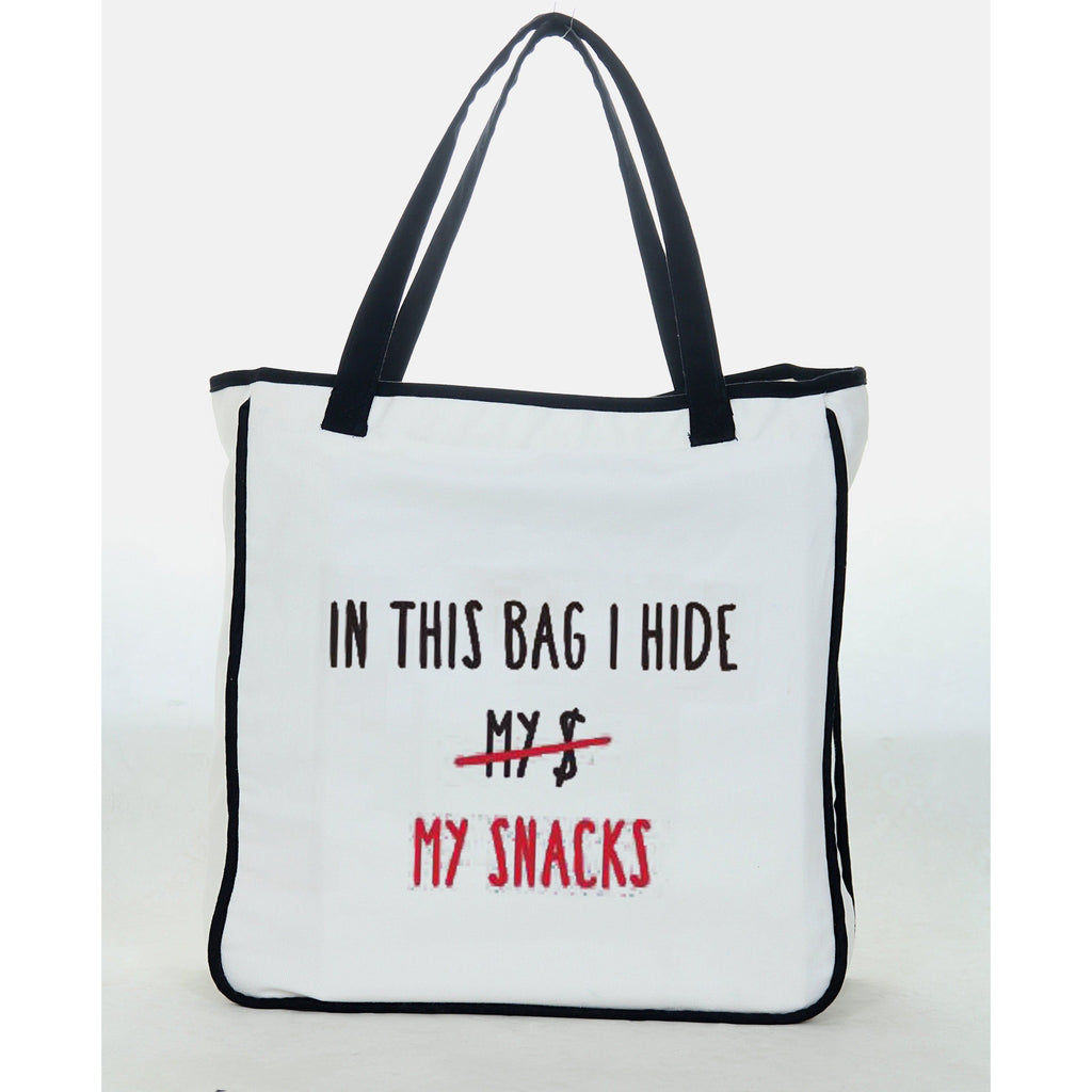 "Reets Beach Bag: ""In this Bag I Hide"""
