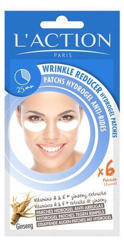 L'Action Paris Wrinkle Reducer Hydrogel Patches - 6 Patches