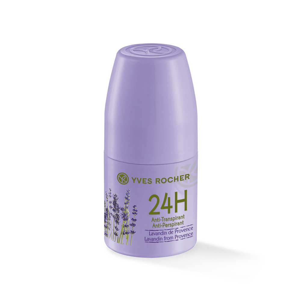 Yves Rocher Roll-on 24h Anti Perspirant - Lavandin from Provence