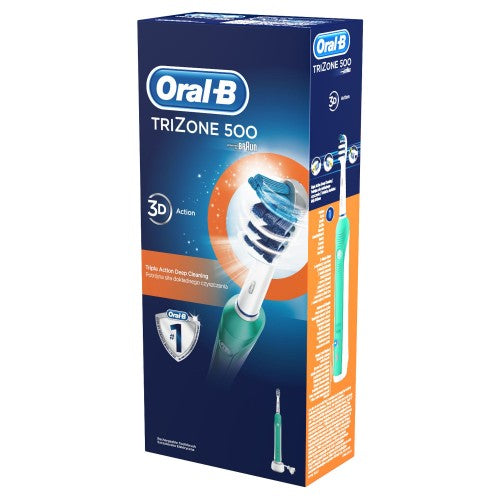 Oral-B Pro 500 TriZone Electric Rechargeable Toothbrush
