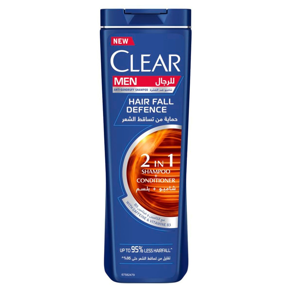 Clear Men Hair Fall Defense Anti-Dandruff 2 in 1 Shampoo & Conditioner - 360ml