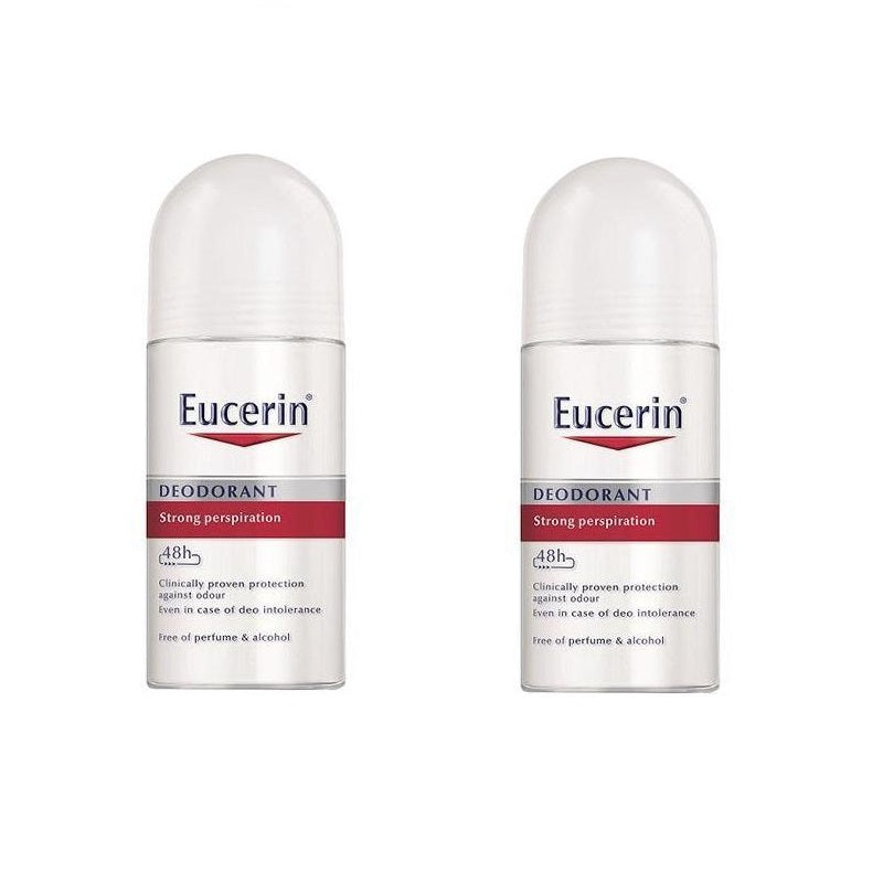 Eucerin 48h Anti-Perspirant Roll-On Deodorant - BUY 1 GET 1 at 50% OFF!