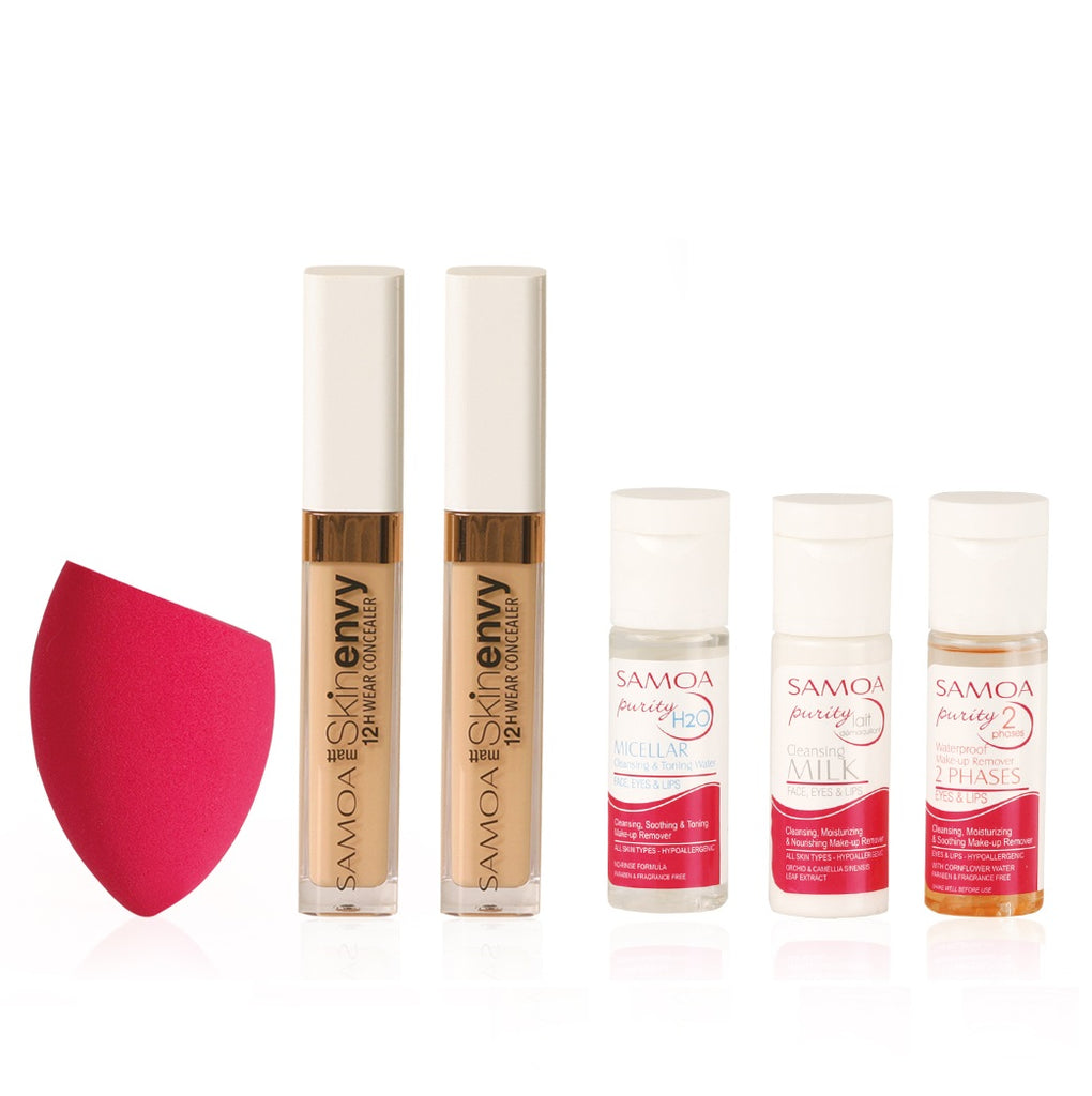 Samoa Feel Glam'D 4 - 2 Skin Envy High Coverage Concealer + Blender 17% Off