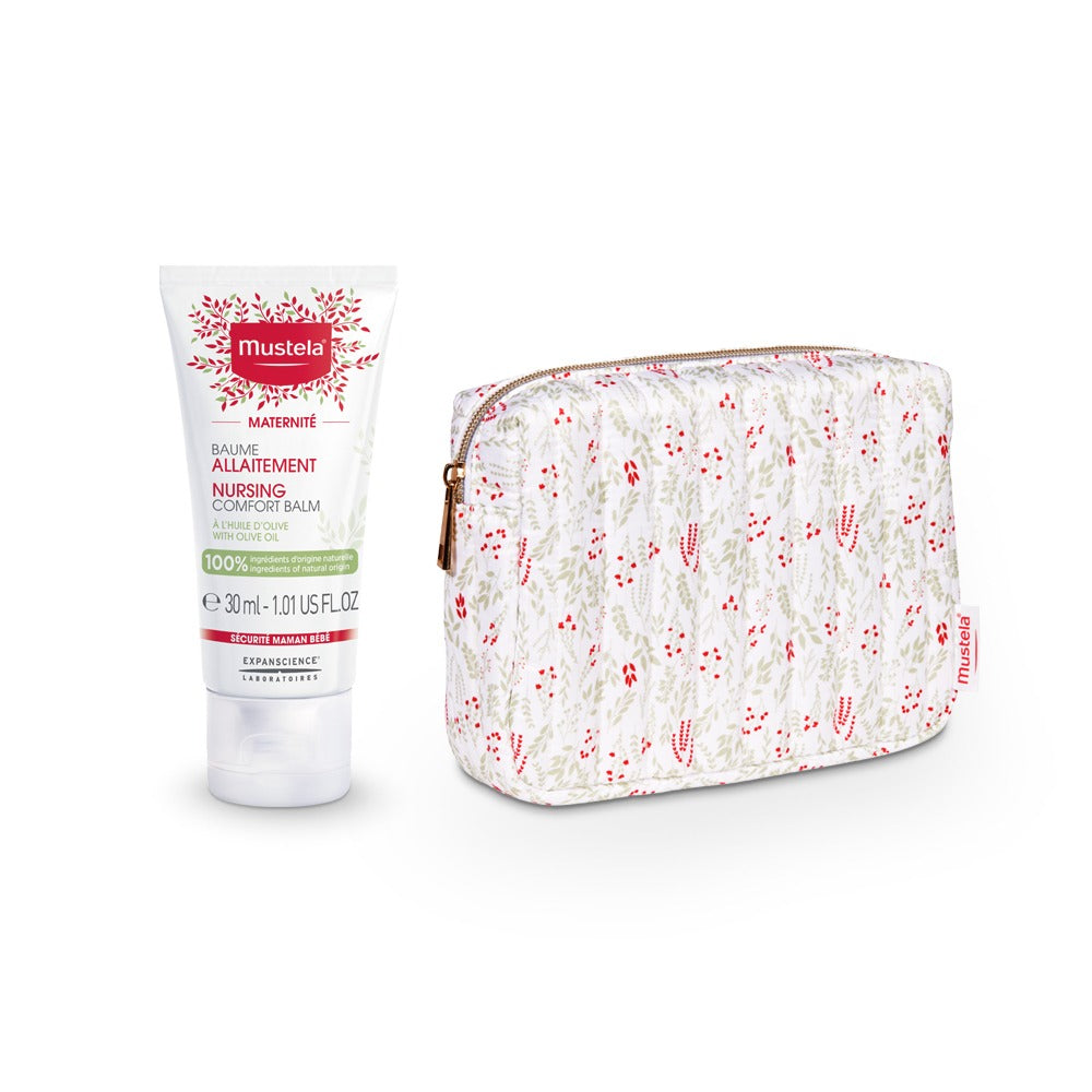 Mustela Holiday Special Nursing Comfort Balm + Free Pouch Offer