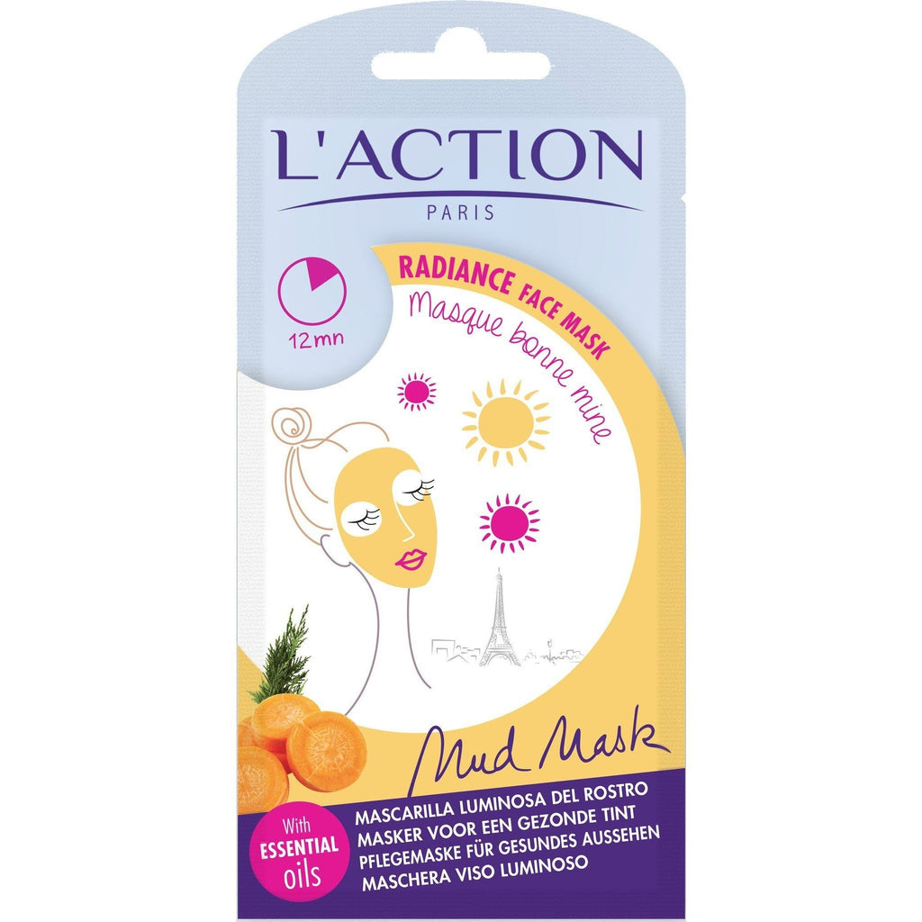 L'Action Paris Radiance Mud Mask with Essential Oils