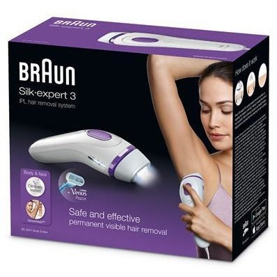 Braun Silk-expert 3 IPL BD 3001 Hair Removal at home - for body & face