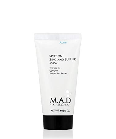 M.A.D Skincare Spot On Zinc and Sulfur Mask