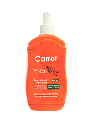 Carrot Sun Oil Spray 200ml - Maximum Browning in one day