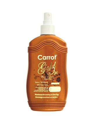 Carrot Sun Oil Gold Spray 200ml - Maximum Browning in one day