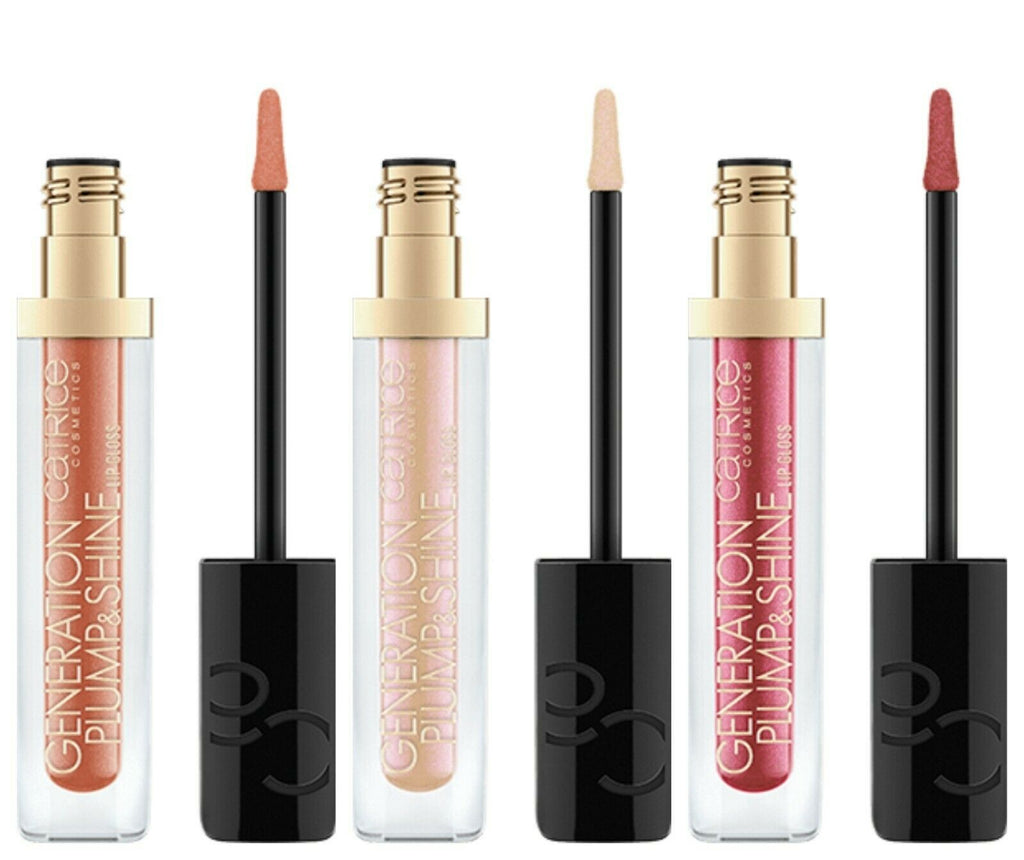 Catrice Lip Gloss Plump Shine Golden Effect