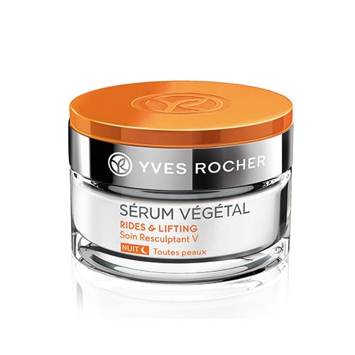 Yves Rocher Wrinkles And Lifting V Shaping Care Night All Skin Types 50Ml Jar