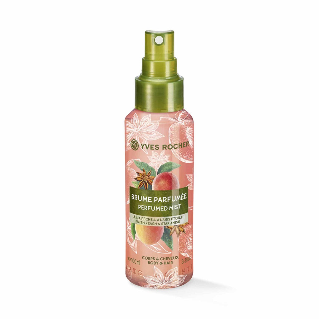 Yves Rocher Peach Star Anise Sensual Body and Hair Mist