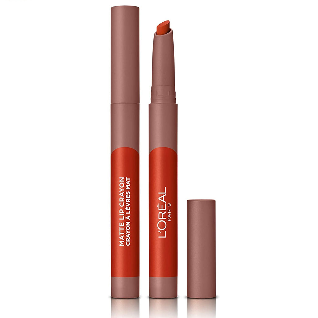L'Oreal Paris Black Friday Lipstick Matte Crayon 106 Mon Cinnamon