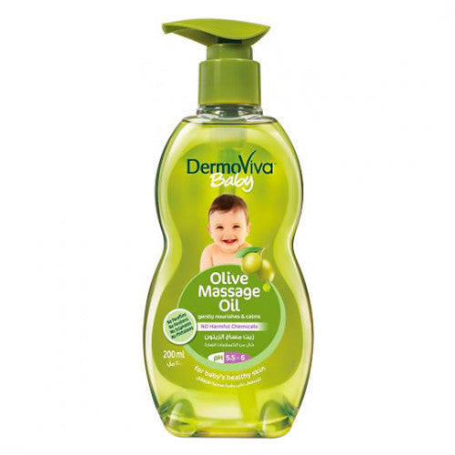 DermoViva Baby Olive Massage Oil