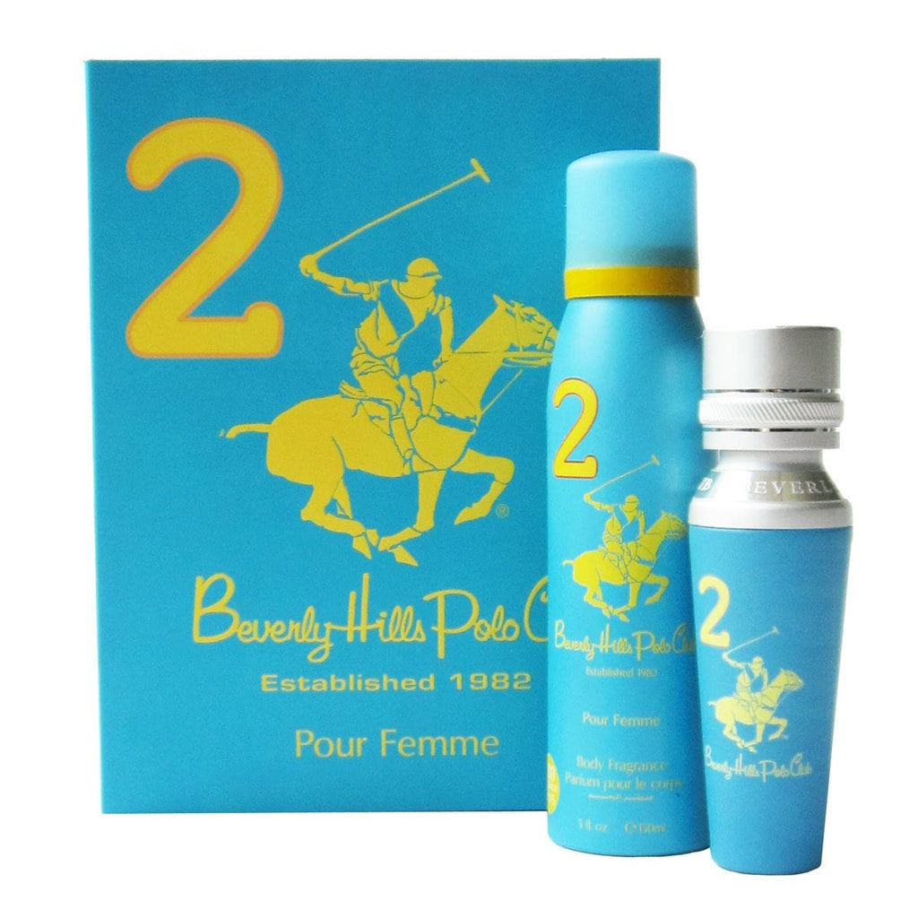 Beverly Hills Polo Club Sport 2 Piece Gift Set For Women