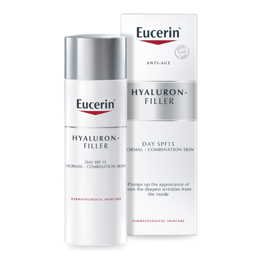 Eucerin Hyaluron-Filler Anti-aging Day Cream Normal Combination Skin SPF 15