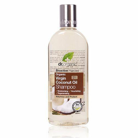 Dr. Organic Virgin Coconut Oil Shampoo - 265ml