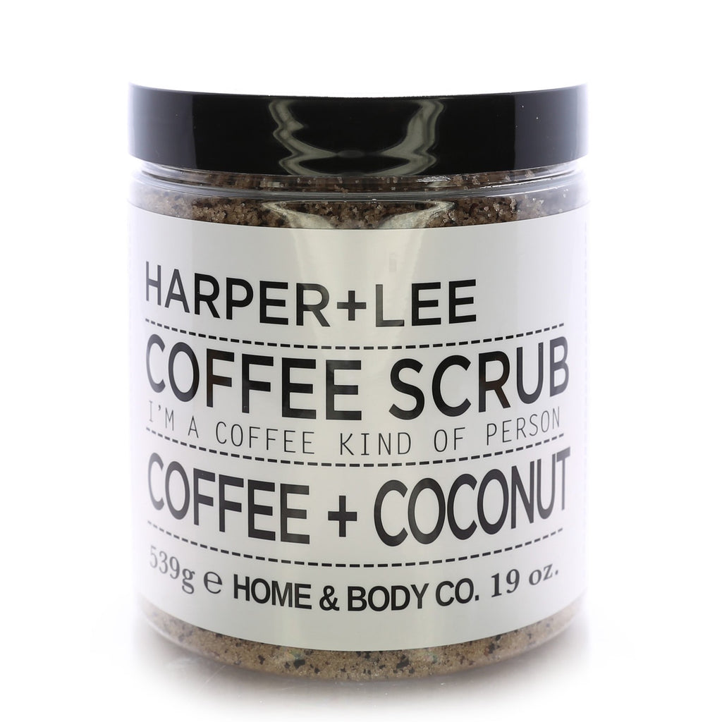 Home & Body Harper+Lee Coffee Scrub