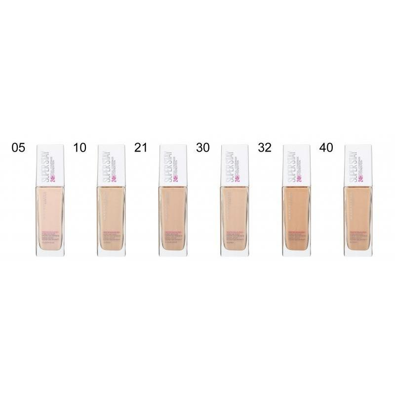 Maybelline SuperStay 24H Foundation + Free Brush