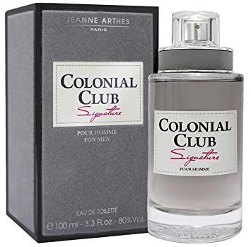 Jeanne Arthes Colonial Club Signature EDT For Men