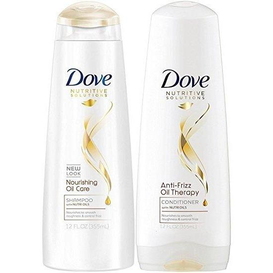 Dove Shampoo and Conditioner Daily Nourishing Oil Care - Save 15%